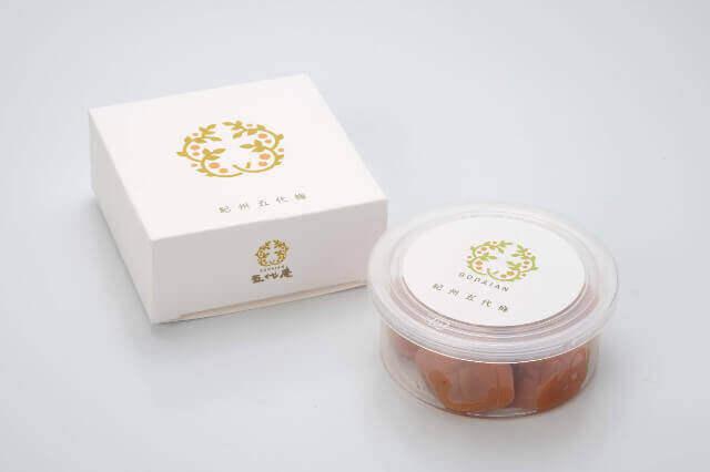 紀州五代梅 80g(化粧箱)